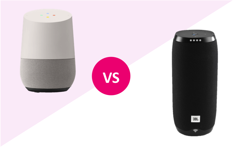google home vs jbl link